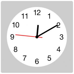 ساعت آنالوگ با HTML , CSS